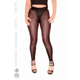 SLEEKCHEEK Classic Leggings HL2A - SheerSpandex 91 BLACK...