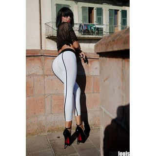 SLEEKCHEEK Booty Leggings HL5AX - SheerSpandex 90 MATTE -...