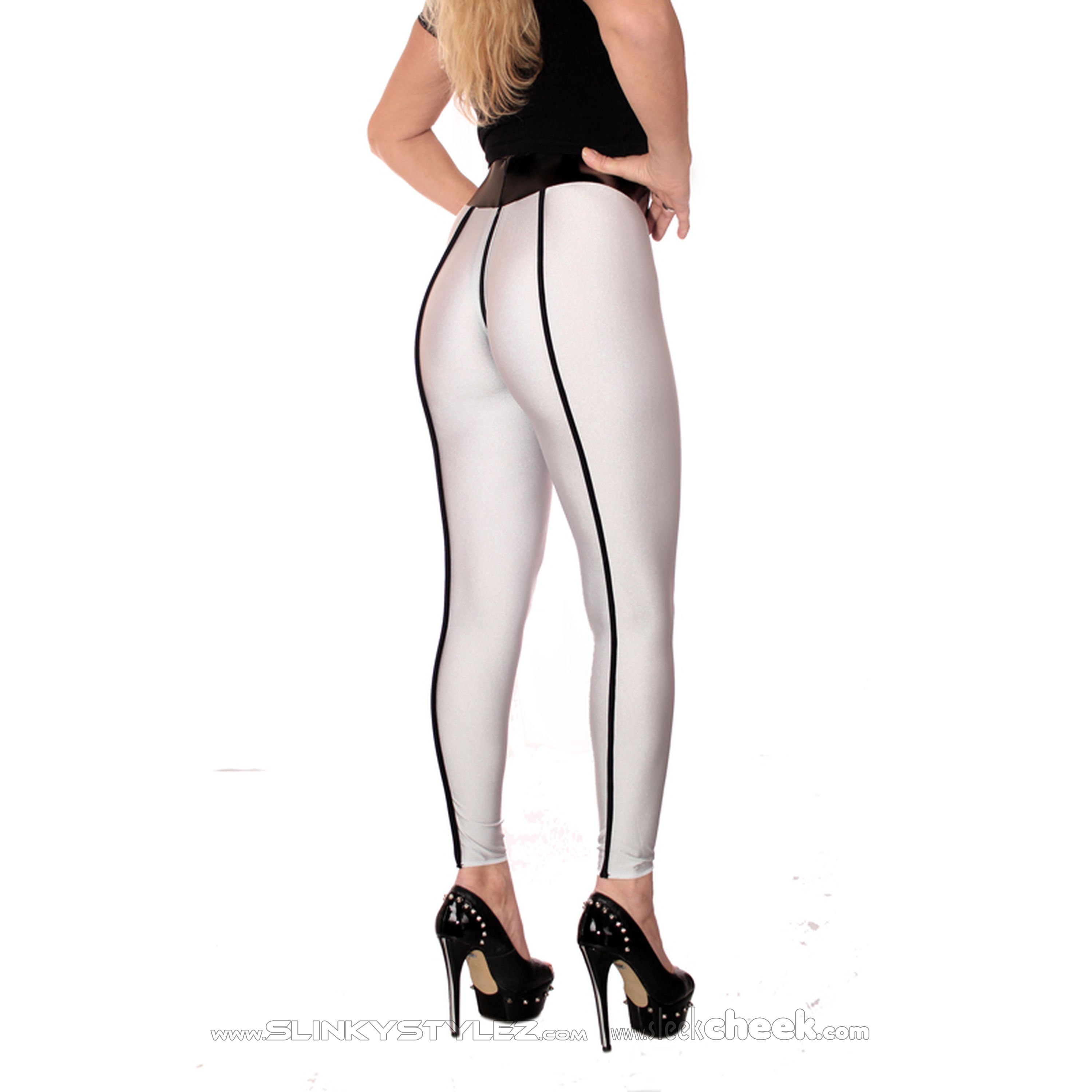 SLEEKCHEEK Ouvert Zip Leggings HL5A_ZV6 - QualitySpandex 190 - CUSTOM CONFIGURE (L57D)