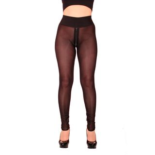 SLEEKCHEEK Ouvert Zip Leggings HL2A_ZV6 - SheerSpandex...